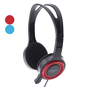 Y-6180 3.5mm Marvelous Red/Blue Stereo Headphone For MP3/PC/DVD