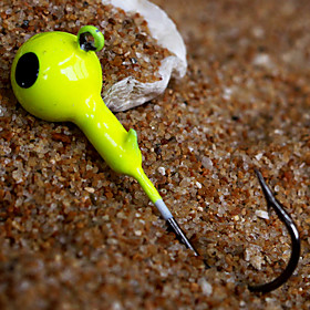 Metal Bait Jig Head 5g Sinking Fishing Lure (3pcs)