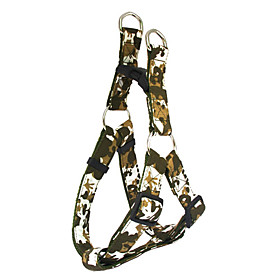 Camouflage Pattern Harness and Leash for Dogs (Assorted Color)