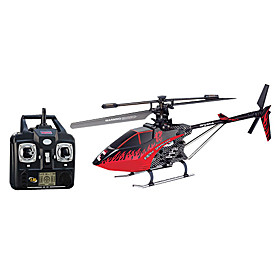 3.5-Channel 2.4G Remote Control Single-Propeller Helicopter with LCD Remote Controller