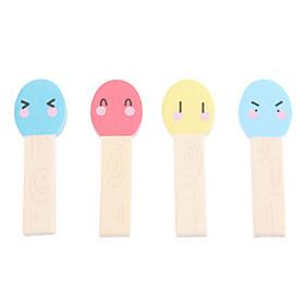Lovely Matchstick Style Sticky Notes (4-Pack)