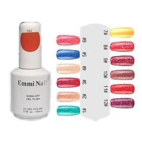 UV Color Gel Hot Sale Nail Art Nail Polish (15ml,1 Bottle)