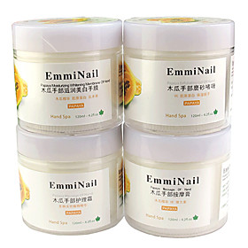 Papaya Massage Of Hand Set(Massage Cream Penaten Crème Moisturizing Whitening Membrane Exfoliating Gel,120ml;4Bottle)