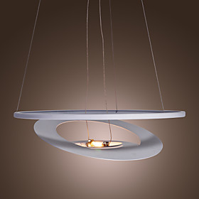 Stylish Pendant Light with Warm White Shade