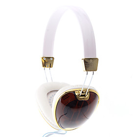 IP-158 Fashionable 3.5mm Wired White Stereo Earphone For Iphone