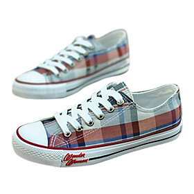 Fashion Chequer Pattern Leisure Canvas Men'S Shoes(Assorted Sizes and Colors)