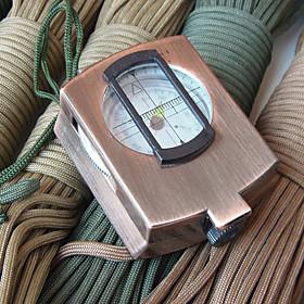 Multifunctional Professional Zinc Alloy American Style Compass(Random Color)