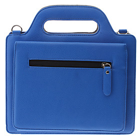 Lichee Pattern PU Leather Case Bag with Stand and Card Slot for iPad 2 and The New iPad