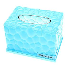 Novelty Water Cube Design Storage Tissue Box