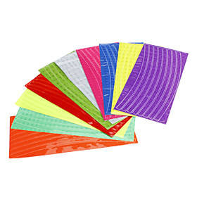 Colourful Reflective Stick for Bicycle Wheel(Random Color)