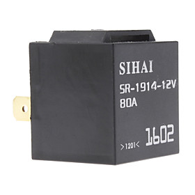 12V 80A 5-Pin Universal SPDT Automotive Flasher/Hazard Relay
