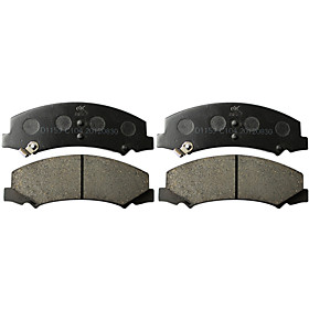 Front Ceramic Brake Pad Set for Buick LaCorsse, Buick Lucerne, Cadillac DTS, Chevrolet Impala(4 Pieces)