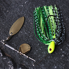 Metal Bait Spinner Floating Fishing Lure (7g)