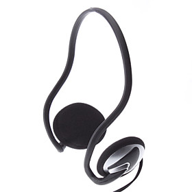 SW-201 2.2 Metres Wired Comfortable Silver Headphone
