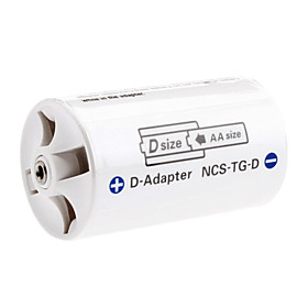 Sanyo Eneloop AA to D Battery Adapter
