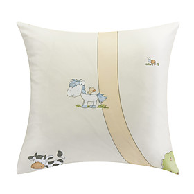 Modern Cartoon Animal Polyester Decorative Pillow Cover