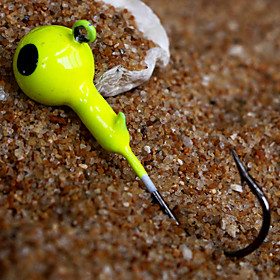Metal Bait Jig Head 3.5g Sinking Fishing Lure (20pcs)