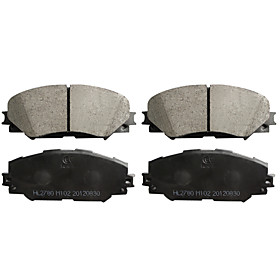 Front Ceramic Brake Pad Set for Pontiac Vibe,  Toyota RAV4, Scion Tc, Toyota Corolla, Toyota Matrix(4 Pieces)