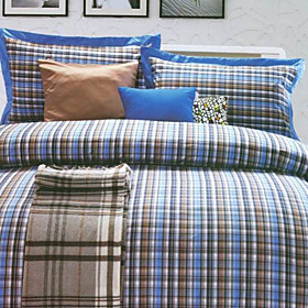 Warsaw Plaid Twin / Queen / King 3-Piece Duvet Cover Set
