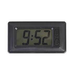 Portable LCD Digital Clock for Car