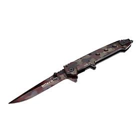 BOKER Camouflage Stainless Steel Sharp Folded Knife