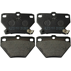 Rear Ceramic Brake Pad Set for Toyota Corolla, Toyota Celica, Toyota Matrix, Pontiac Vibe(4 Pieces)