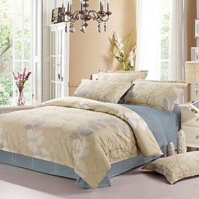 Pamela Full 4-Piece Duvet Cover Set