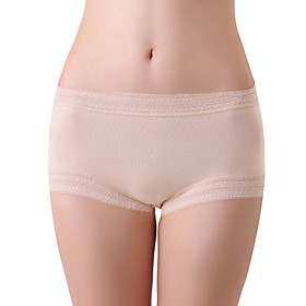 XZYD Almond High-waist Lace Panties