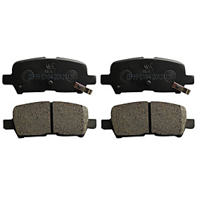 Rear Ceramic Brake Pad Set for Buick LaCorsse, Buick Lucerne, Pontiac Grand Prix, Chevrolet Impala(4 Pieces)