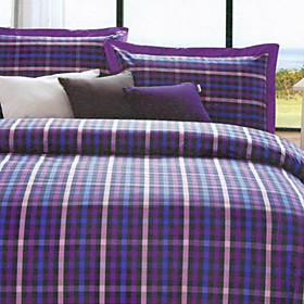 Amsterdam Plaid Twin / Queen / King 3-Piece Duvet Cover Set