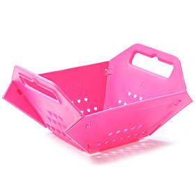 Plastic Made Foldable Fruit Basket