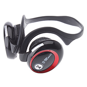 X6 Bluetooth MP3 FM 3 in 1 Stereo Headset