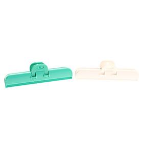 16cm Freshness Retain Bag Box Strong Clip (2-Pack, Random Color)
