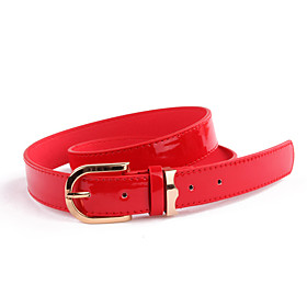 Women's Casual Pin Buckle Leather Belt