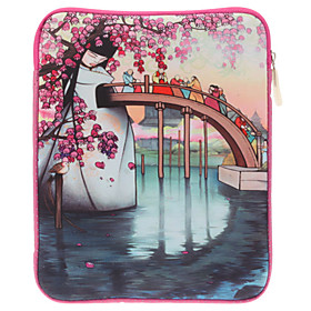 Cartoon Pattern Soft Pouches for iPad 2, the New iPad and Samsung Galaxy N8000