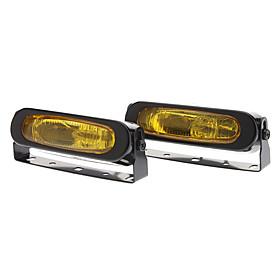 55W 3000K 1000-Lumen 1 x H3 Halogen Bulb Car Fog Lamps (DC 9-16V, Pair)