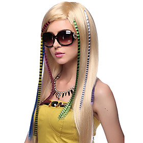 Mixcolor Synthetic Feather Hair Extensions