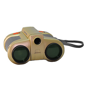 Kids' 4 30 Green Coated Night Vision Telescope
