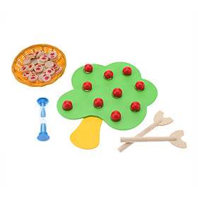 Wooden Picking Apple Educational Toy for Kids