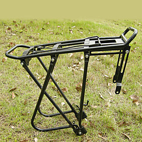 Bicycle Aluminum Alloy Adjustable Shelves with Three Support(Black) AG005