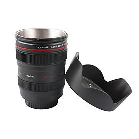 Novelty Simulation 1:1 Cannon EF 24-105mm Camera Lens Style Mug Cup