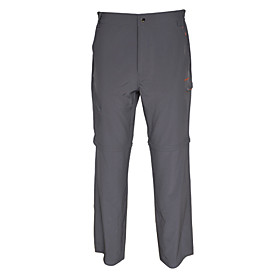 WALKING LIVING Light Elastic Pants with Detachable Trousers