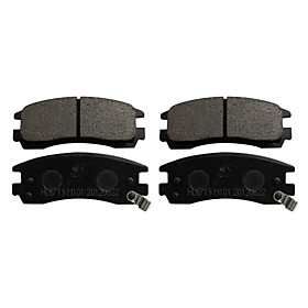 Rear Ceramic Brake Pad Set for Buick LeSabre, Buick Park Avenue, Buick Regal, Buick Riviera