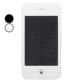 High Capacity 4000mAh Portable Multifunctional Solar Charger with Flashlight for Travel
