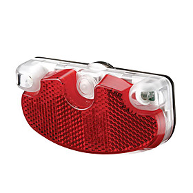 Akslen 2-LED All-In-On Bicycle Safety Tail Light with Reflector TL-70