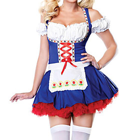 Nifty Sexy Beer Girl Dress Halloween Costume(1 Piece1)