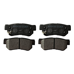 Rear Ceramic Brake Pad Set for Hyundai Azera, Hyundai Sonata, Hyundai Tucson, Hyundai Elantra, Hyundai XG300/350