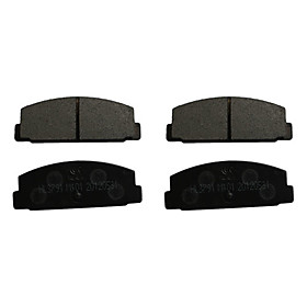Rear Ceramic Brake Pad Set for Mazda 6, Mazda RX-7, Toyota Corolla