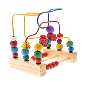 Steel Shape Geometric Counting Stacker  Abacus Educational Toy