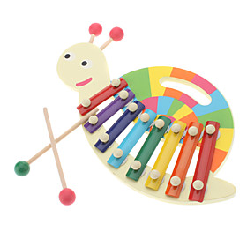 8-Notes Snail Knocks Xylophone Educational Music Toy for Kids